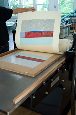 Hurvin's-print-coming-off-etching-press